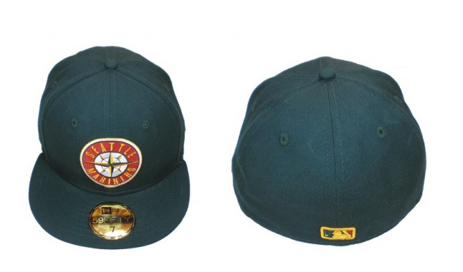 Seattle mariners justfitteds exclusive new era cap green