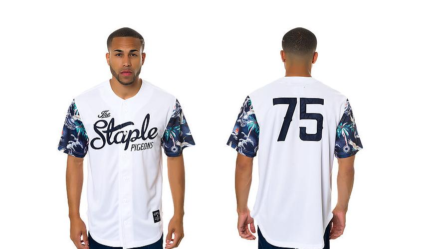 new era The Tulum Baseball Jersey staple