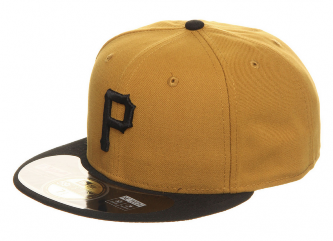 Pittsburgh Pirates Alternate 2 MLB Authentic 59fifty Cap
