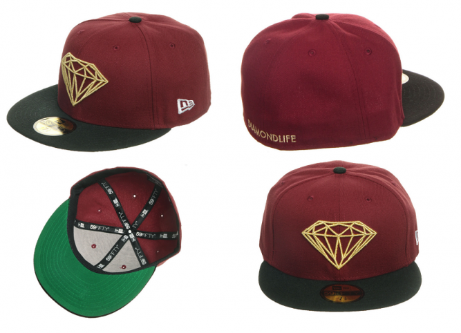 Diamond Supply Co. New Era brilliant fitted 59fifty