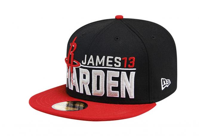 New Era NBA James Harden Houston Rockets Capaddicts