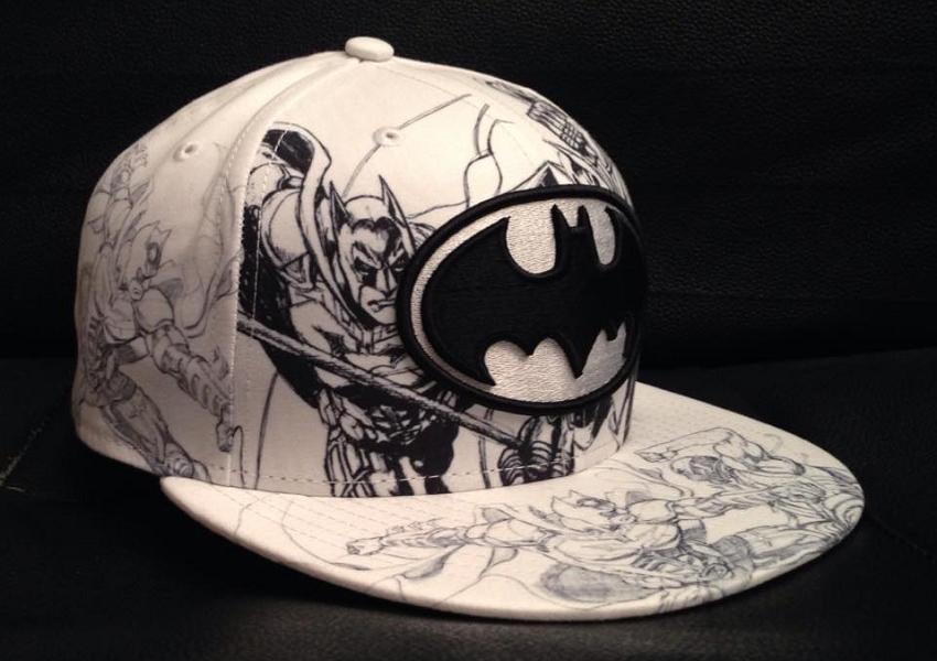 New Era all over Sketches revival 59FIFTY Batman vs Bane 02