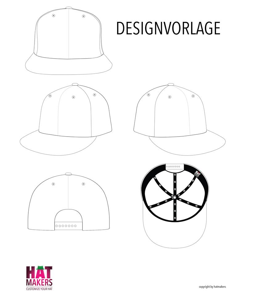 blanko-snapback-cap-blank-clean-design