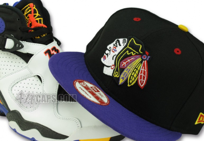 New Era – Chicago Blackhawks – Jordan 8 – Threepeat