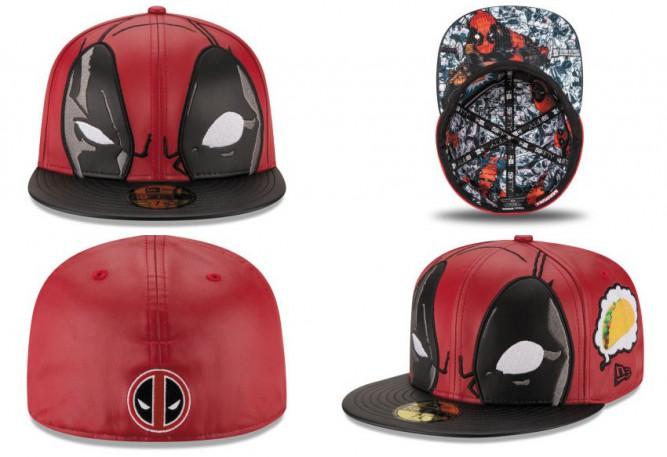 New Era x Marvel – Deadpool – Big Face – Capaddicts – Lifestyle of a ... 1ffb4585da9