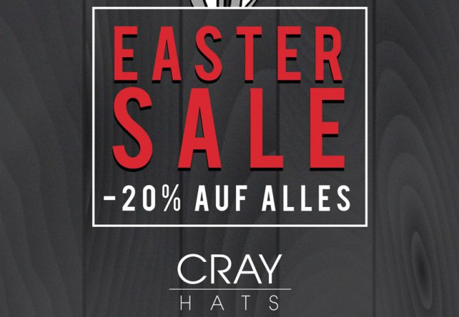 cray-hats-easter-sale-discountcode-rabatt