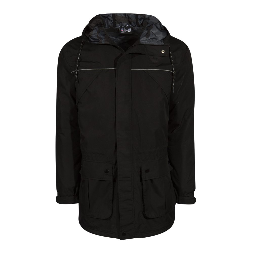 NTC PARKA. OAKLAND RAIDERS. BLACK
