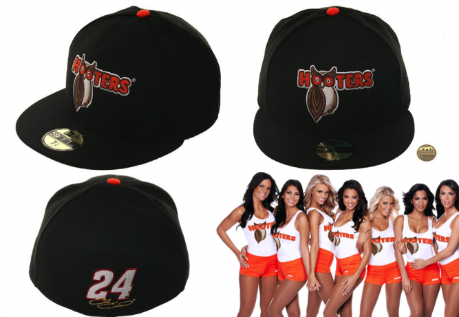 new-era-hooters-big-boobs-nascar-hat-club-exclusive