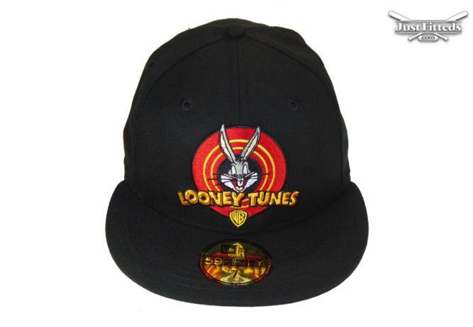 looney-tunes-WB-bugs-jf-custom-new-era-cap-black