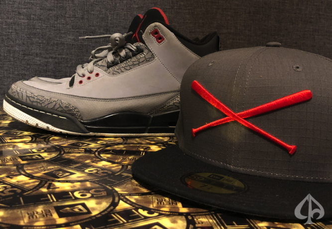new-era-justfitteds-caps-crossed-bats-logo-rip-stop-jordan-3-stealth-59fifty